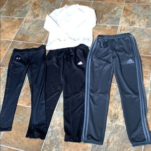 Adidas Under Armour Youth Soccer Lot M/L